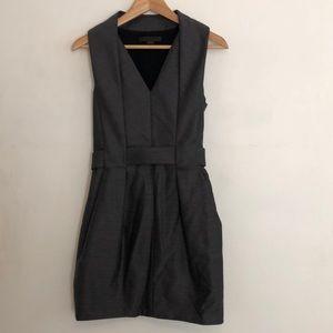 Alexander Wang Gray Wool Dress Sz 0